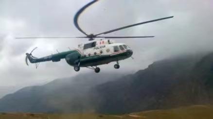 秘鲁一警用直升机紧急迫降后失联