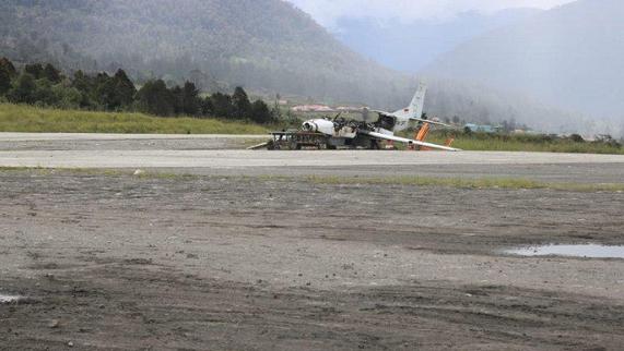 印尼巴布亚分裂主义者袭击了拉嘎机场 造成3人死亡