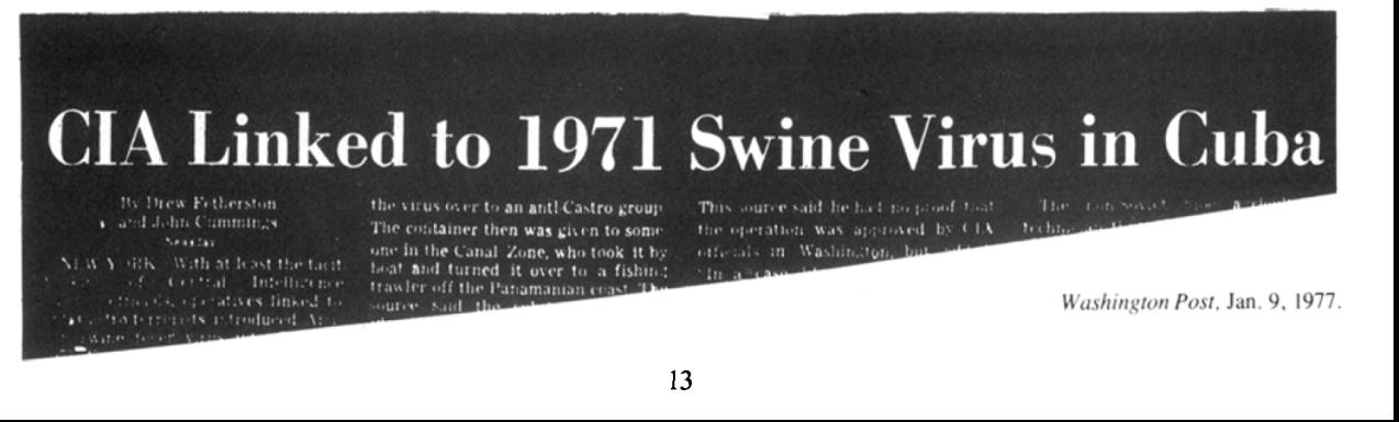 从731部队到德特里克堡 美国为何不敢正面回应?
