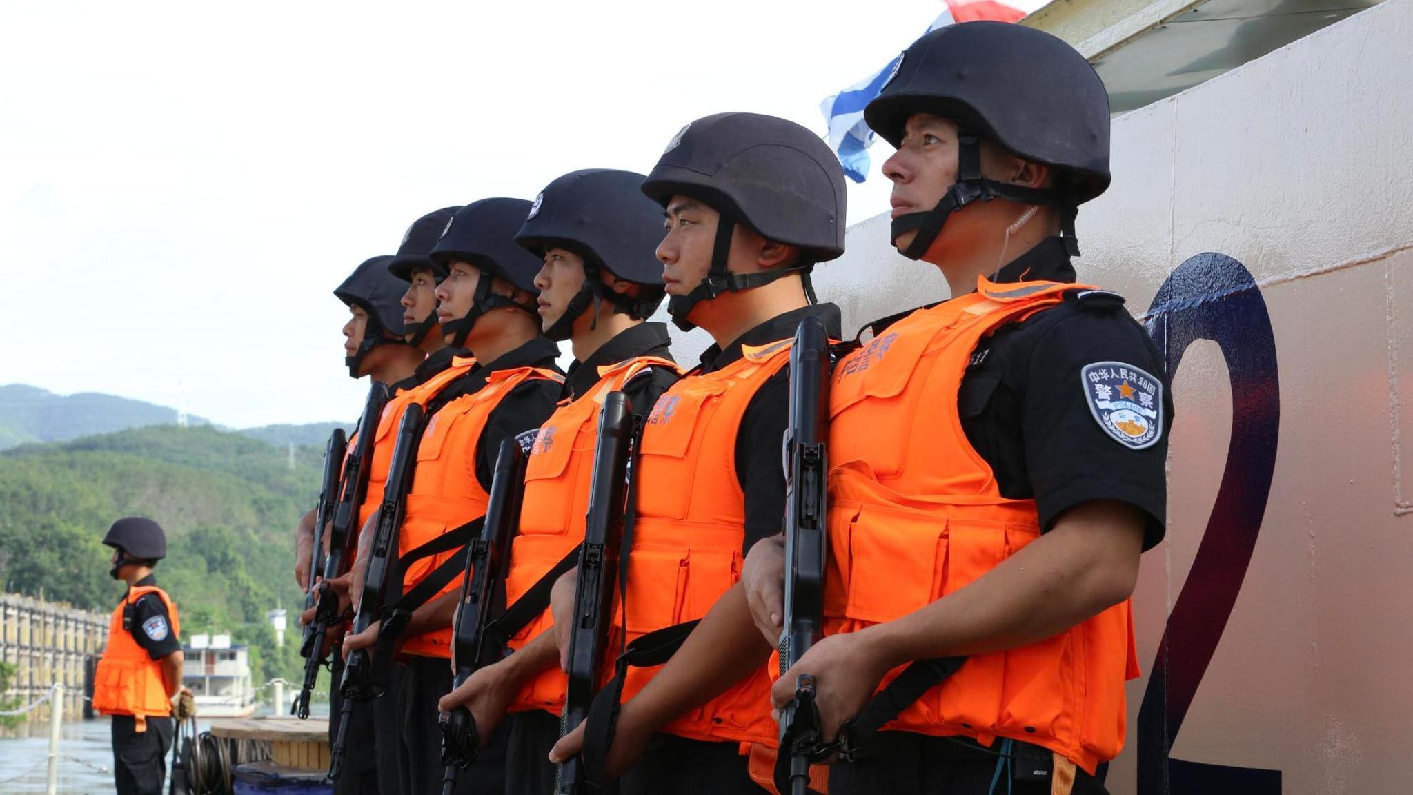 中老缅泰第106次湄公河联合巡逻执法行动圆满完成
