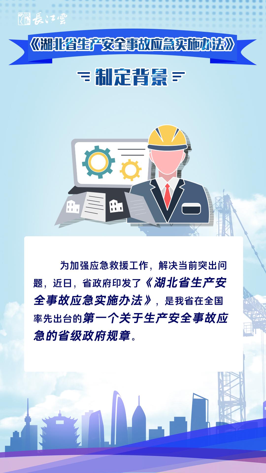 一图读懂《湖北省生产安全事故应急实施办法》