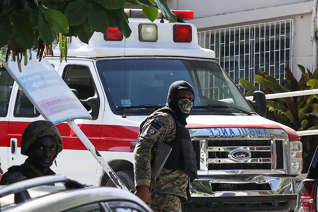 海地警方(资料图)