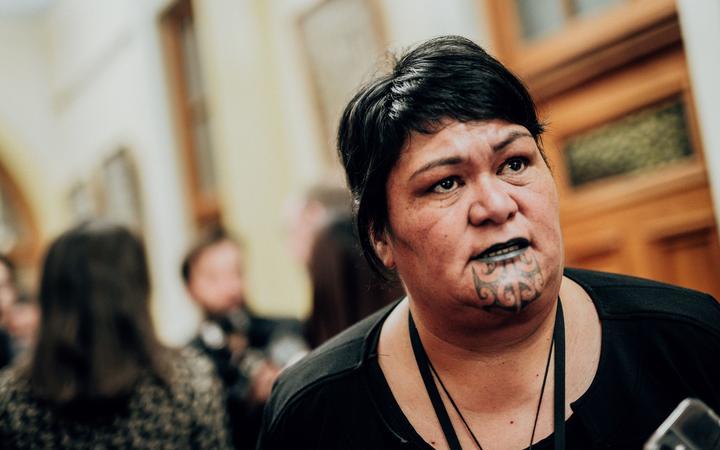 新西兰外交部长马胡塔(Nanaia Mahuta),图自新西兰国家广播电台(RNZ)。