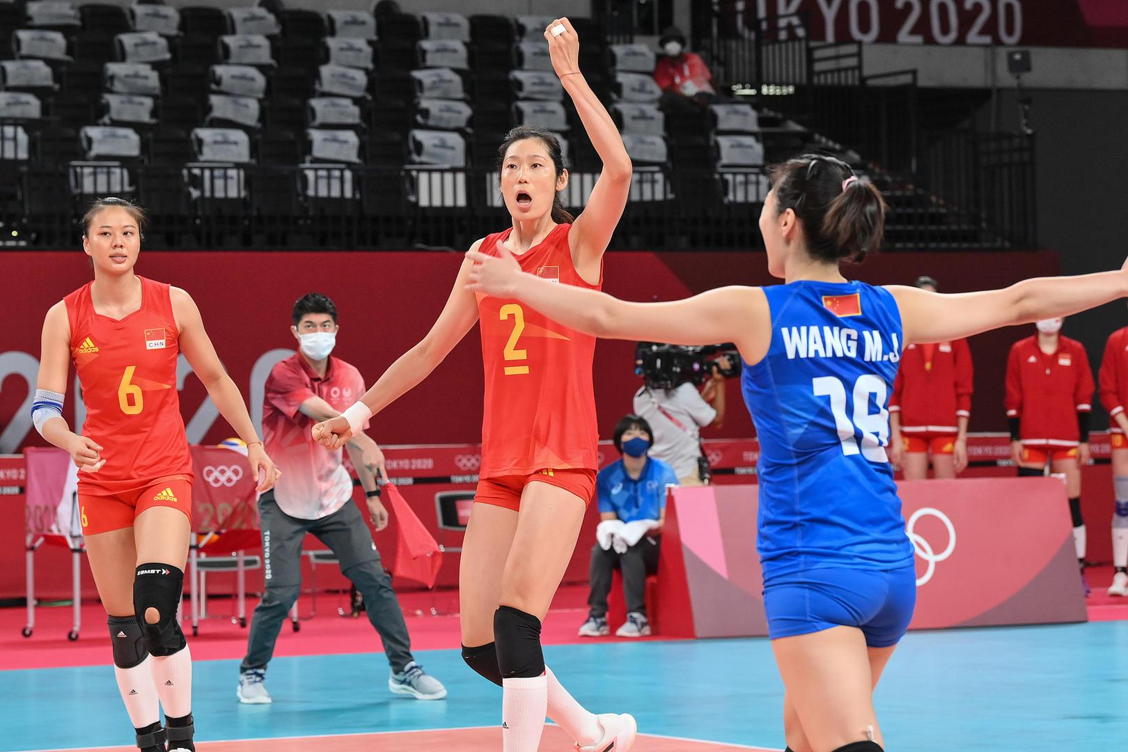 比赛现场图据视觉中国