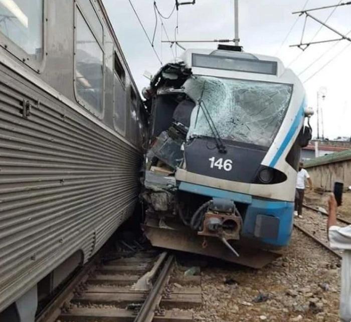 阿尔及利亚发生一起火车出轨事故