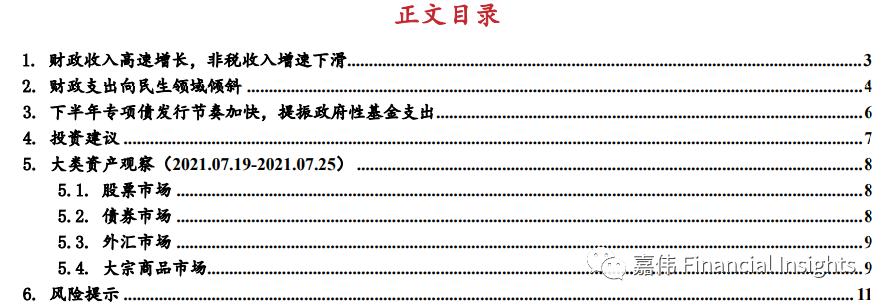 【东亚前海宏观】下半年专项债发行节奏加快,提振政府性基金支出