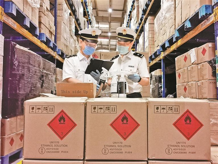深圳今年上半年进出口1.59万亿元