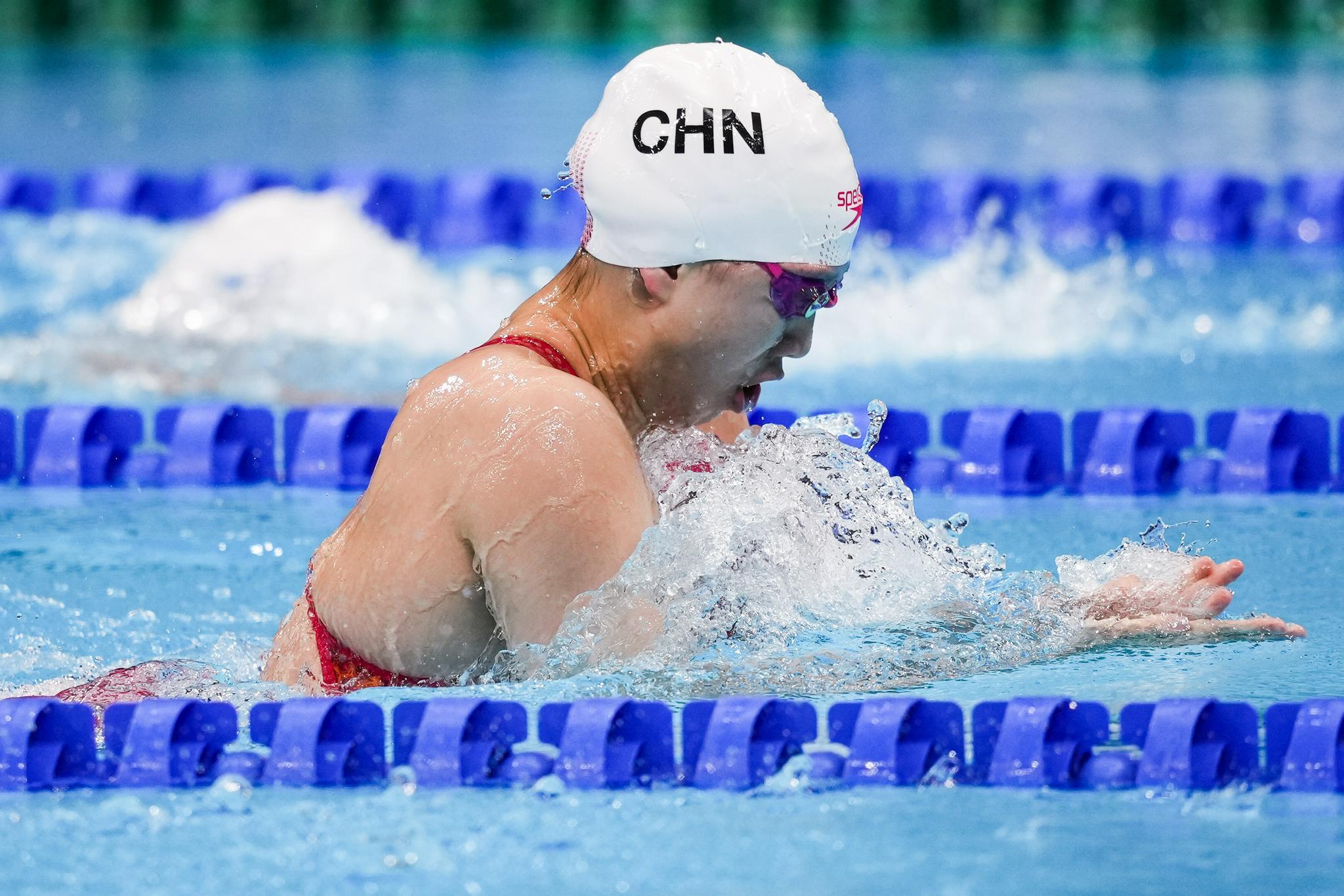 中国游泳队有个上海小囡 她在钢琴和游泳中选了后者