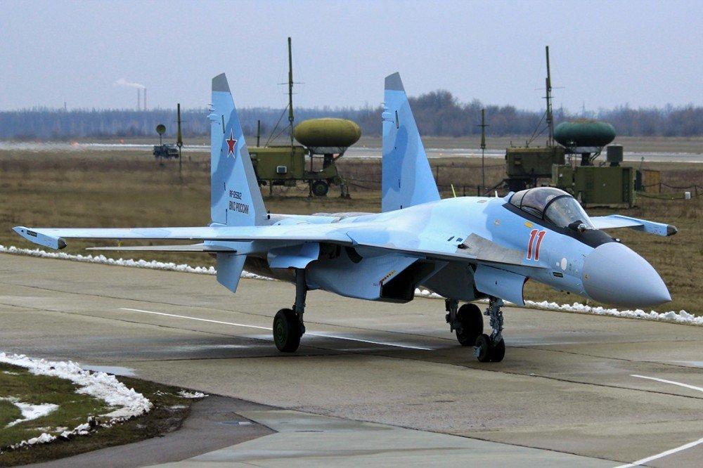 俄一架苏35战斗机坠毁 系量产型苏35首次坠毁