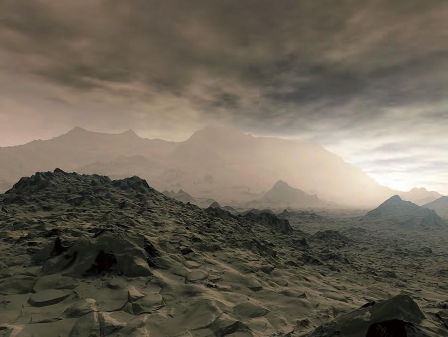 未来荒漠世界