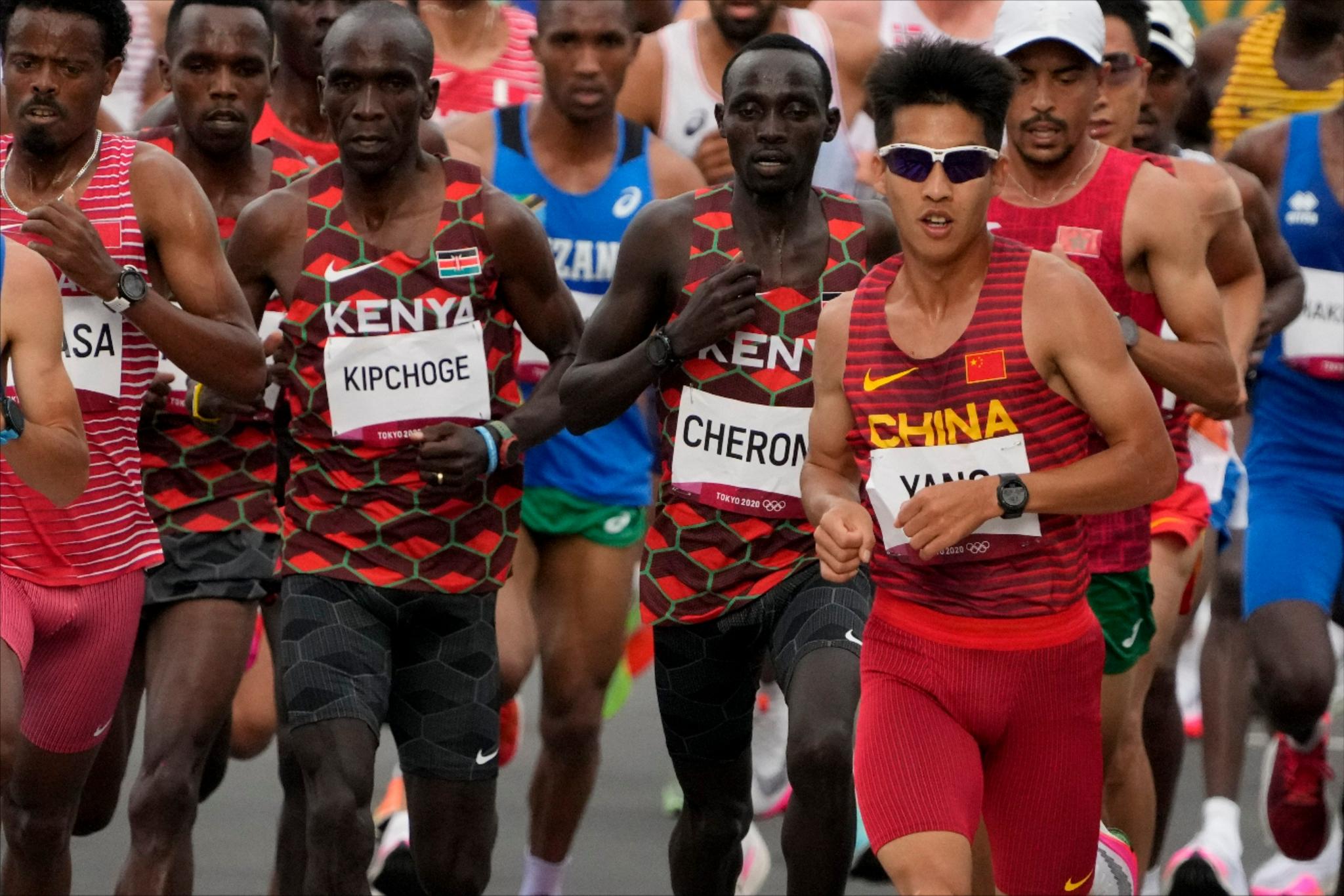 杨绍辉创中国奥运马拉松最佳战绩:我们不比日本选手差