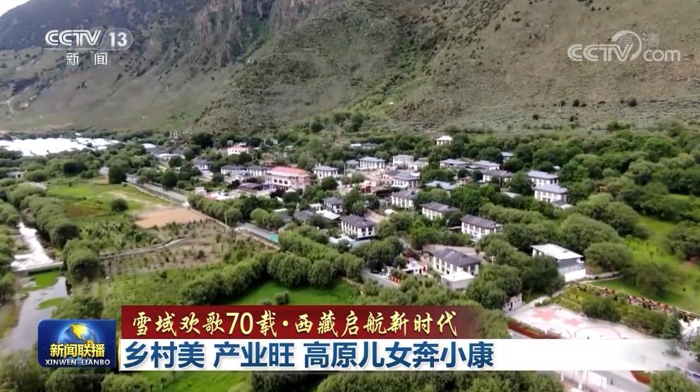 【雪域欢歌70载·西藏启航新时代】乡村美 产业旺 高原儿女奔小康