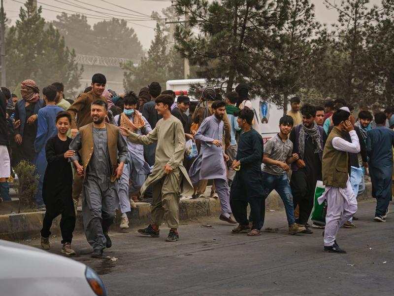 总台喀布尔见闻:记者拍摄素材被塔利班士兵删除