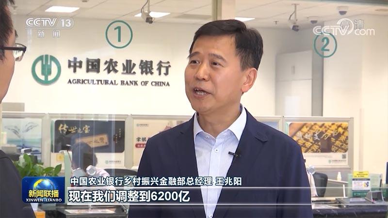 """农业银行:加大力度服务""""三农""""支持乡村振兴"""