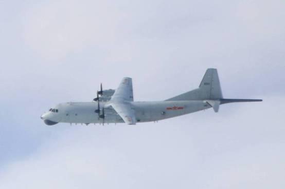 """绿媒还在盯:解放军军机今早进入台西南空域 """"已连续第7天"""""""