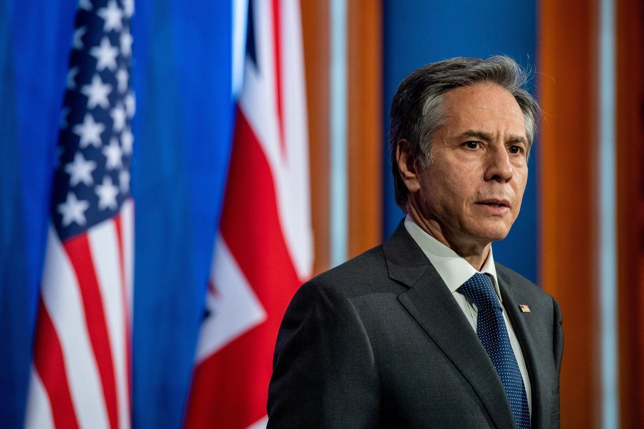 """美国务卿与立陶宛外长通话抹黑中国 还宣称美国支持""""如铁般坚定"""""""