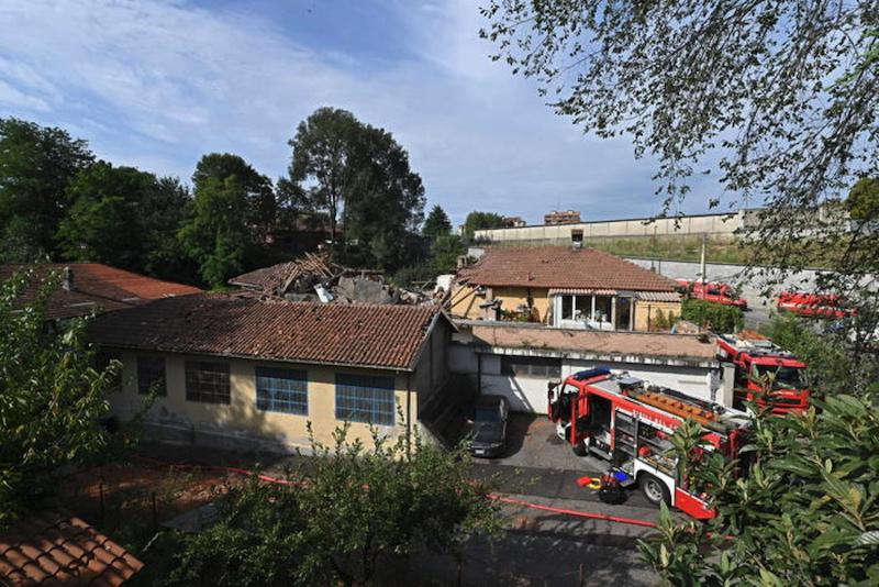 意大利北部一栋房屋倒塌 致1人死亡1人重伤