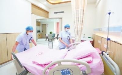 一体化产房让家人陪伴准妈妈分娩
