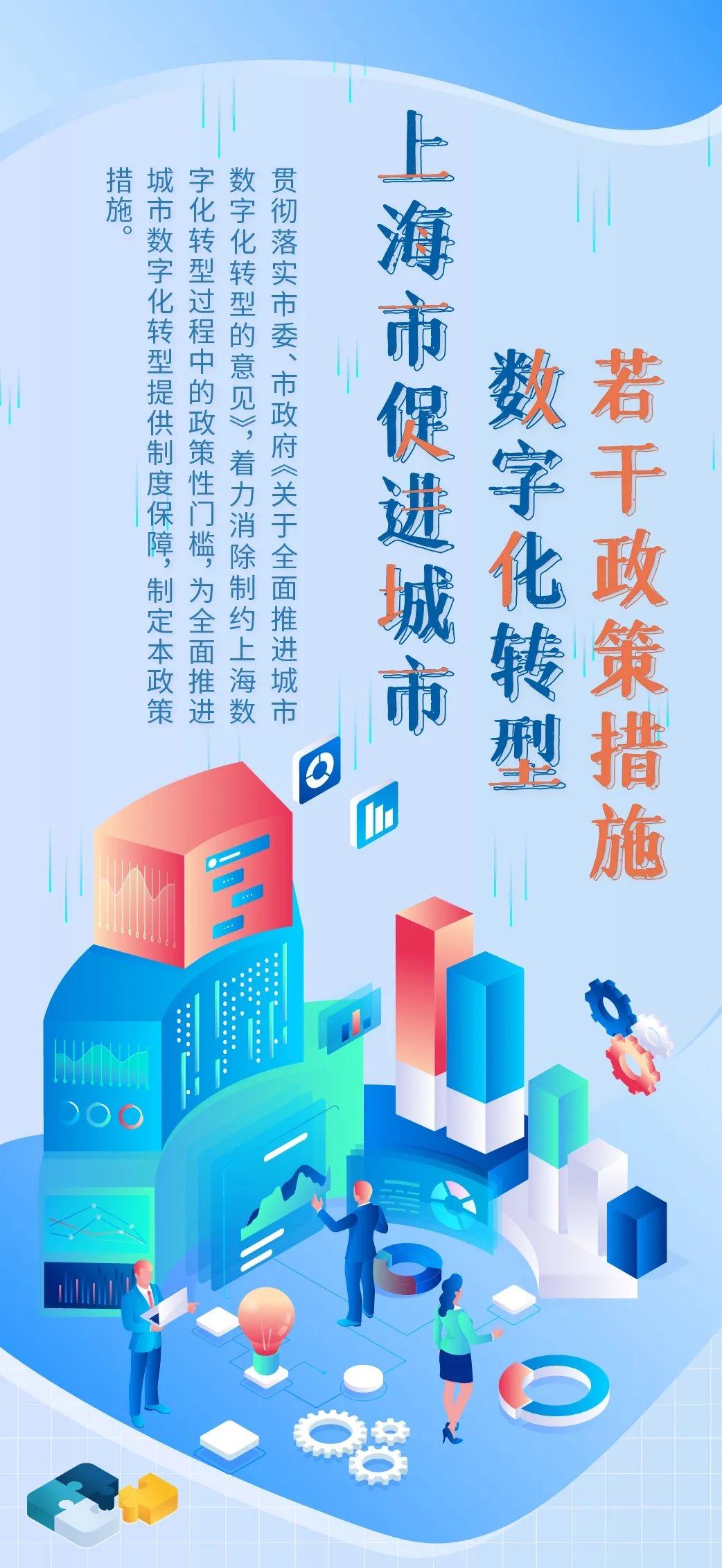 促进城市数字化转型 上海推出27项重要政策措施