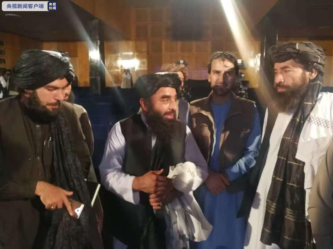 塔利班发言人:已成立负责机场安全特别部队