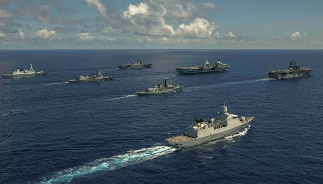 台媒:美军40年来最大规模军演 悄悄删除了模拟台海发生战争演练