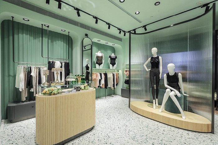 Wolford在杭州开设的全新概念形象店 图片来源:Wolford