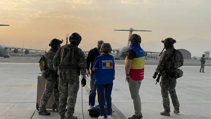 罗马尼亚已安排与该国有关联的156名阿富汗人撤离