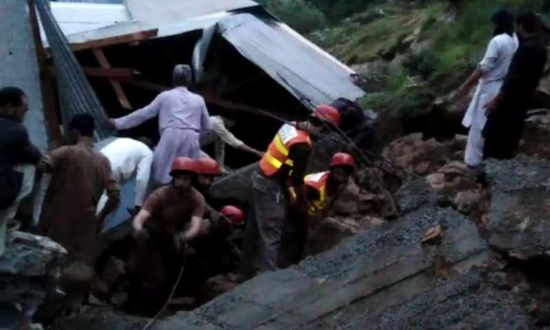 【蜗牛棋牌】大雨袭击巴基斯坦西北部开普省 造成至少14人死亡