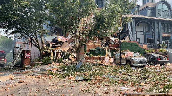美国亚特兰大一公寓发生爆炸 已致4人受伤2人失踪