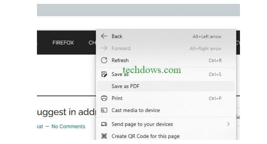 微软Edge浏览器正测试一键将网页保存为PDF