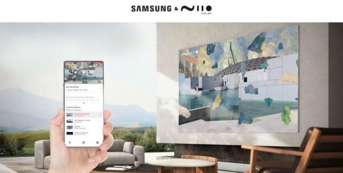 三星联合Niio.Art在商用显示器上呈现数字艺术品