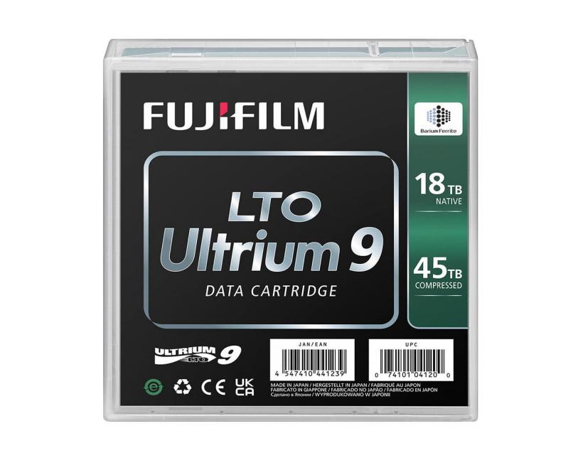 富士胶片推出LTO Ultrium 9数字磁带,最大可存储45TB数据
