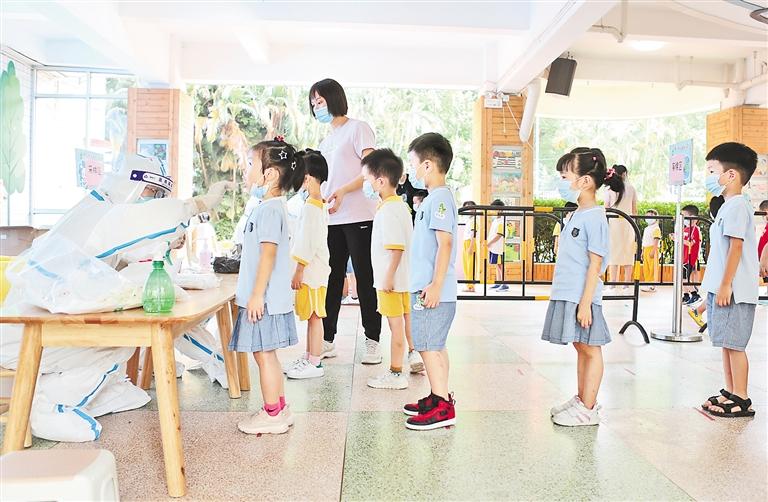 福建莆田:对儿童隔离者安排家人同住
