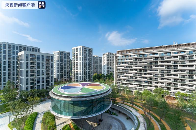 浙江省首宗成建制开发的人才租赁住房项目今日正式投入运营