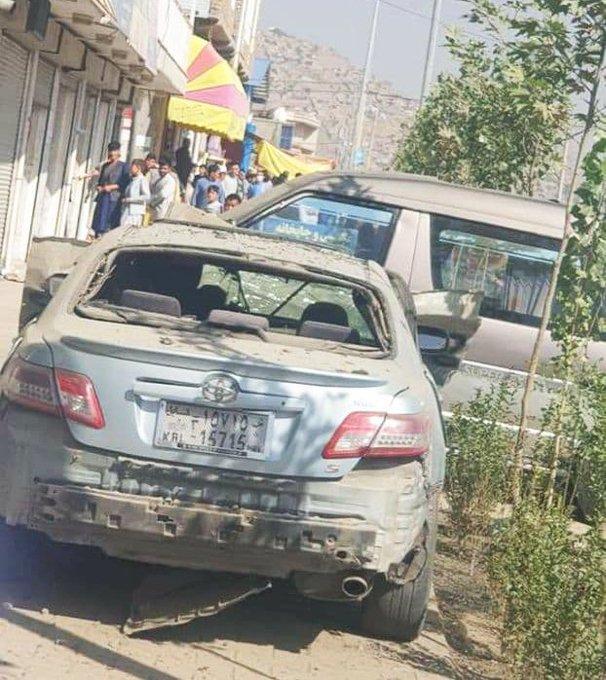 阿富汗首都喀布尔发生爆炸2人受伤 现场曝光(图)