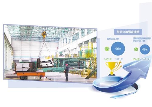 中铝集团东北轻合金有限责任公司的厂区中,工人在车间生产作业。 新华社记者 王 松摄