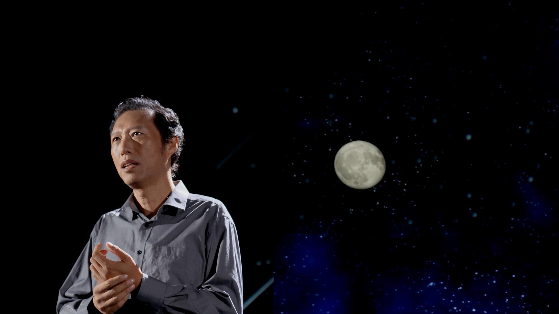 总台IMR带你到月亮上去看一看丨从月球看地球会是什么样?