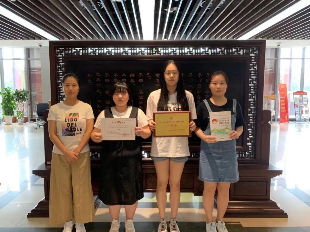 喜讯 | 我校学生获2021年(第14届)中国大学生计算机设计大赛二等奖