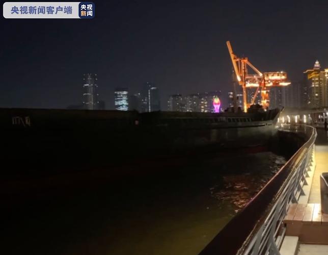 上海黄浦江徐汇滨江岸线再次受到船舶撞击