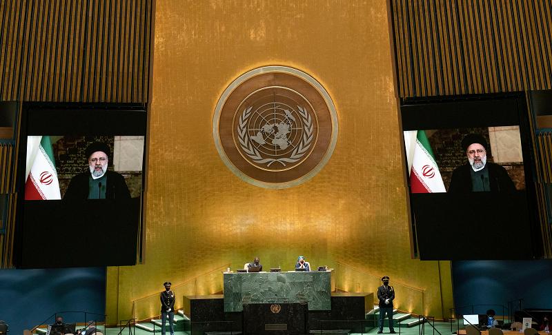 伊朗总统莱希联大会议强烈谴责美国霸权主义