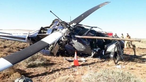 安哥拉空军一直升机坠毁 造成两死两伤