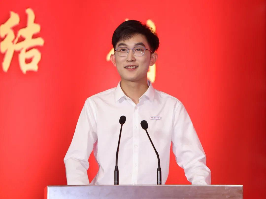 砥砺前行,传承龙马精神 | 新生代表郭俊铭在2021级新生开学典礼上的发言