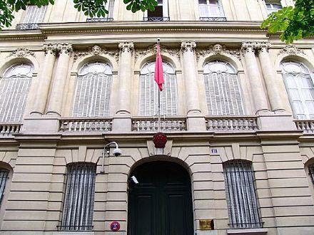 法国参议员代表团将访问台湾?中国驻法国大使馆:三思而行