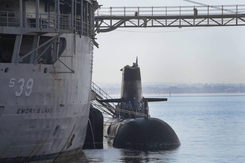"""美军将领称与澳核潜艇交易""""成功"""" 与法国关系然牢固"""