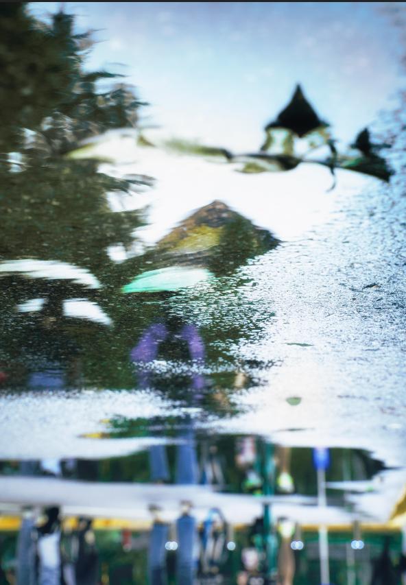 师大的雨 | 纷纷雨下,似是恍惚思园意
