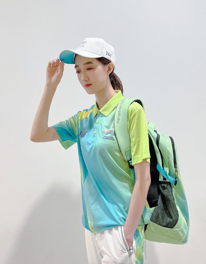 杭州亚运会赛会志愿者服饰揭秘:配饰有双肩包等