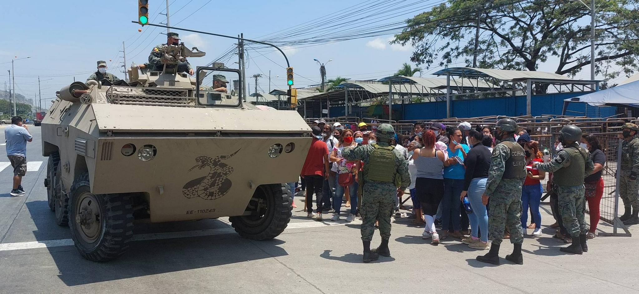 400余名军警进驻 厄瓜多尔发生骚乱监狱局势基本稳定