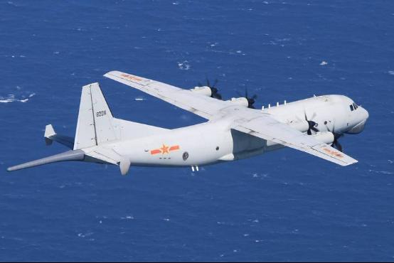 台防务部门:今年解放军军机进台邻近空域超600架次