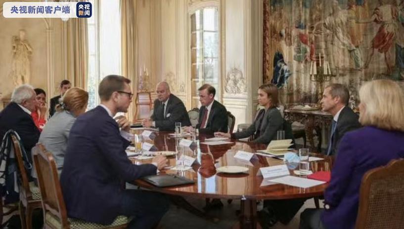 美国总统国家安全事务助理沙利文对法国进行访问