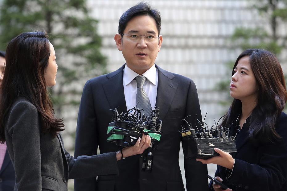 三星掌门李在镕承认非法使用镇静剂 或被罚46万元